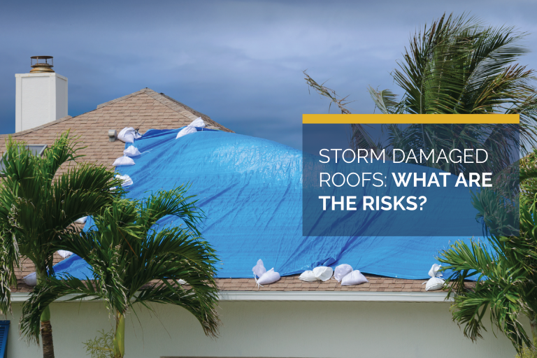 Storm Damaged Roofs: What are the Risks?