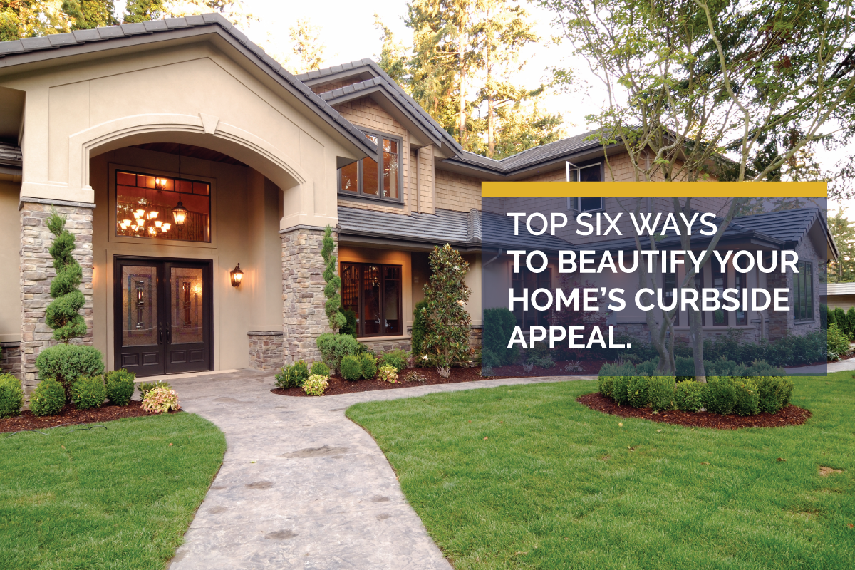 Six Ways to Upgrade Your Home's Curb Appeal