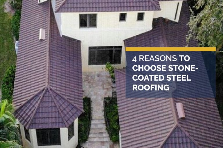 4 Reasons to Choose Stone-Coated Steel Roofing