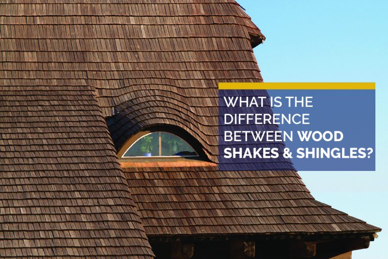 The Difference Between Wood Shakes & Shingles